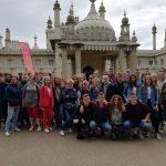 """Licealiści z """"Jedynki"""" na kursie językowym w Hastings"""