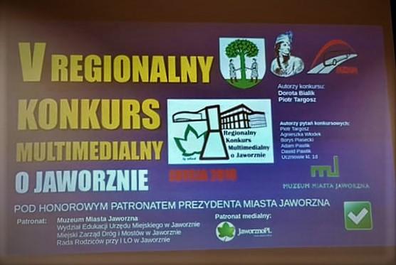 Regionalny konkurs o Jaworznie