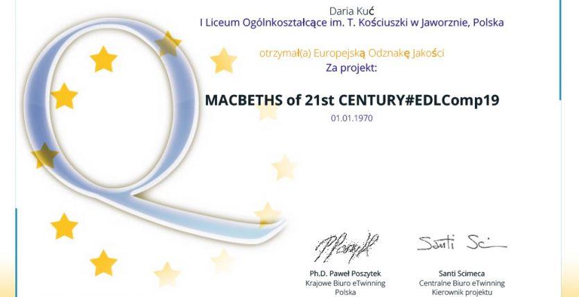 Macbeths of the 21st century