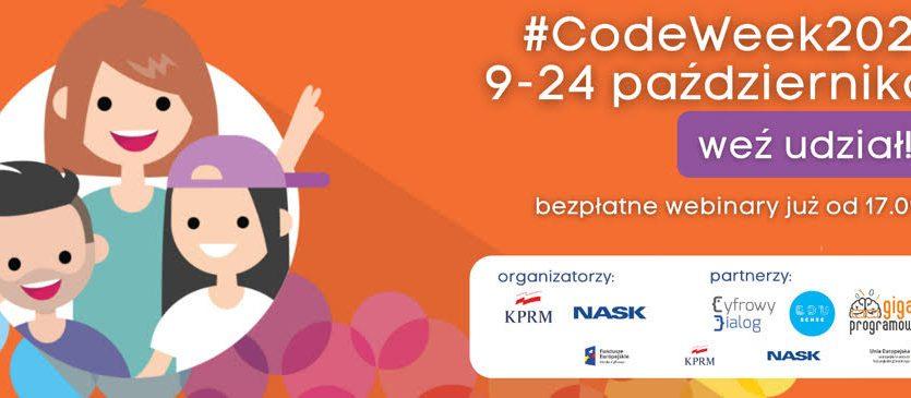 #Codeweek - nadchodzi Europejski Tydzień Kodowania!